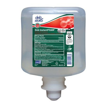 Deb Group 1 Liter Refill Instantfoam Hand Sanitizer 6 Per Case