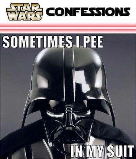 Stars Wars confession