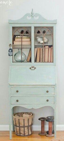 repurposed secretary desk
