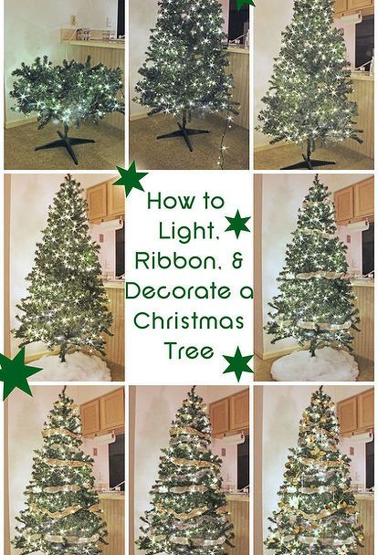 8 Hacks To Make Your Fake Christmas Tree Look Full And Fabulous Fake Christmas Trees Ribbon On Christmas Tree Christmas Tree