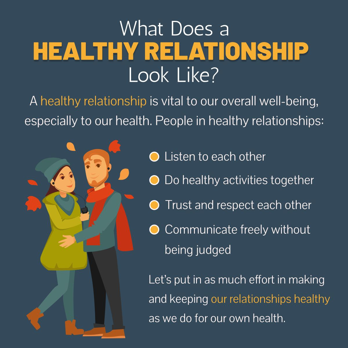 What Does a Healthy Relationship Look Like? #