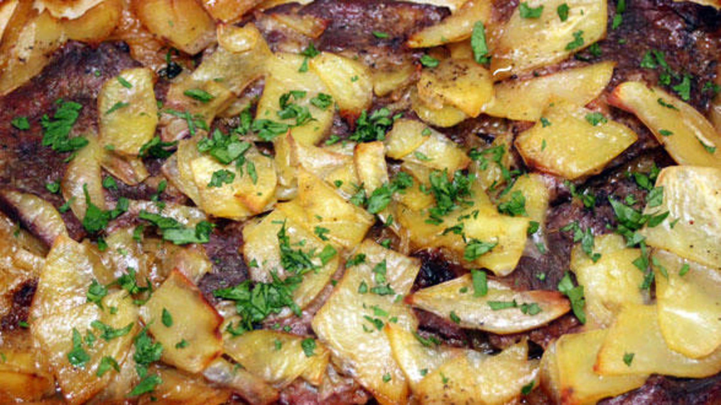Swedish Sailor's Beef and Potato Casserole