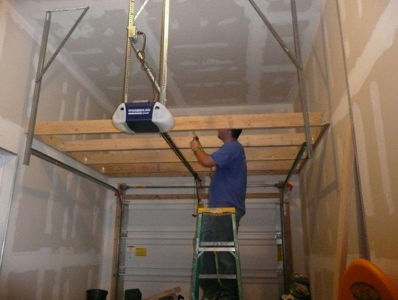 Superb Tips To Build Garage Storage Lofts   DIY Design U0026 Decor