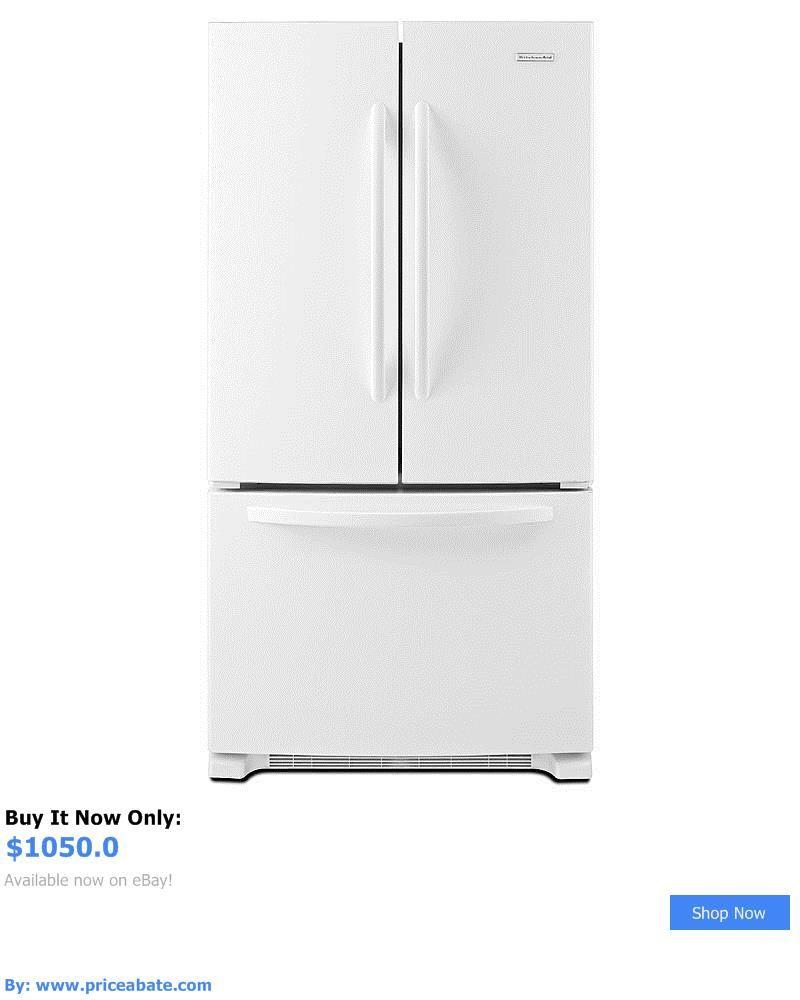 Major Appliances: Kitchenaid 20.0 Cu. Ft. Counter Depth French Door  Refrigerator