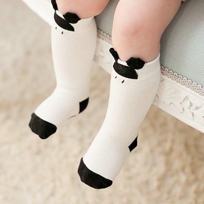 0daeedbe3 1 Pair Unisex Lovely Cute Cartoon Fox Kids baby Socks Knee Girl Boy Baby  Toddler Socks animal infant Soft Cotton socks 0-3 Y