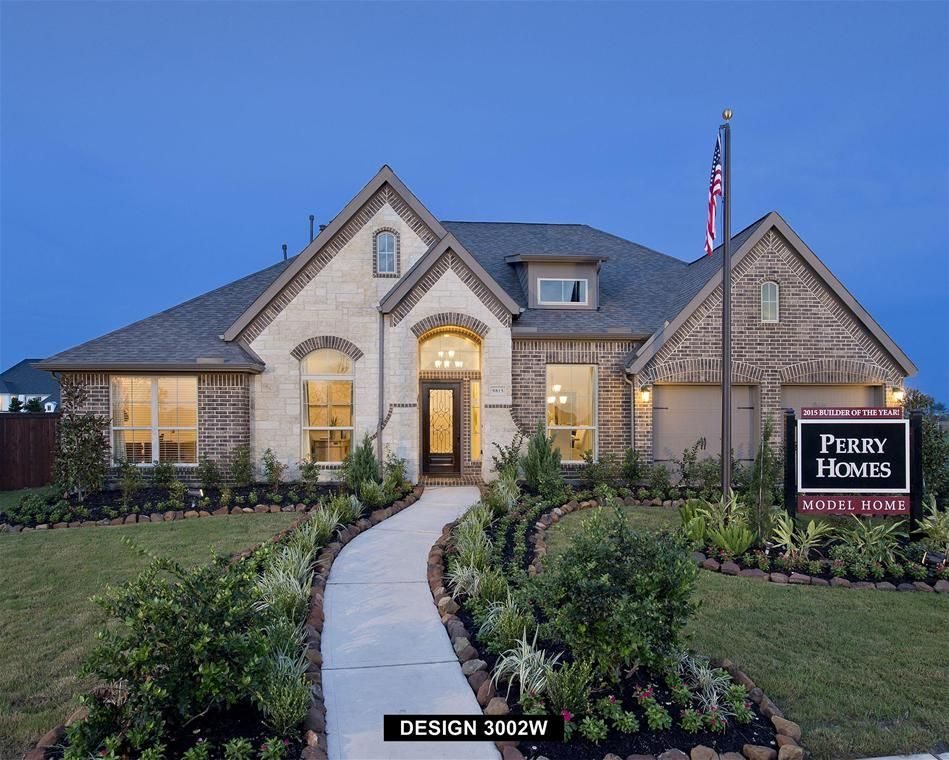 Perry Homes in Meridiana [70\' Lots] #newhomes #perryhomes ...