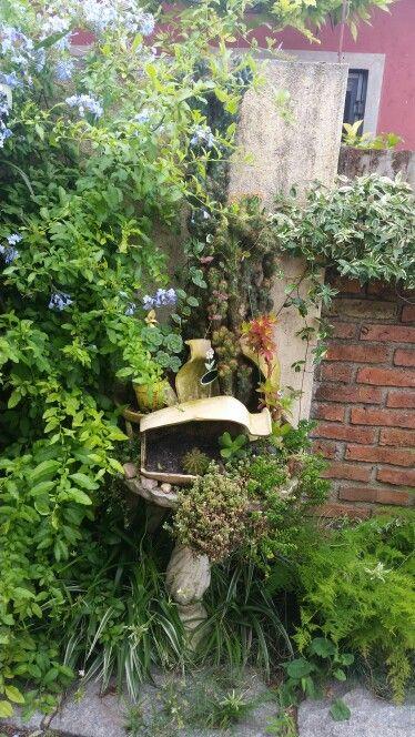 jardín de ciudad