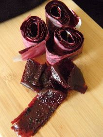 365 Days of Baking and More: Strawberry, Blueberry and Pomegranate Fruit Roll-Ups