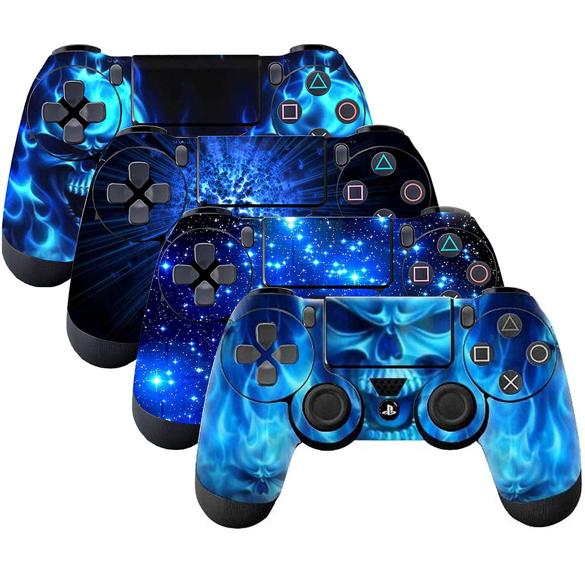 SubClap 4 Packs PS4 Controller Skin Vinyl Decal Sticker