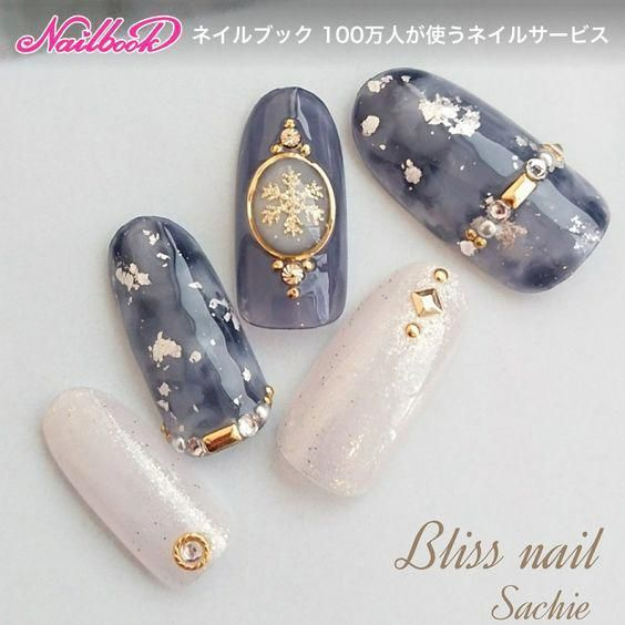 sample❤️#nail #nailart #nails#manicure... ネイルデザインを探すならネイル数No.1のネイルブック #nailchristmas #koreannailart