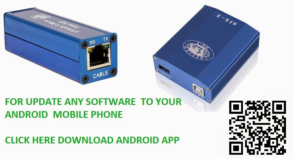 UFS HWK Flashing Box and USB connectivity driver free download now