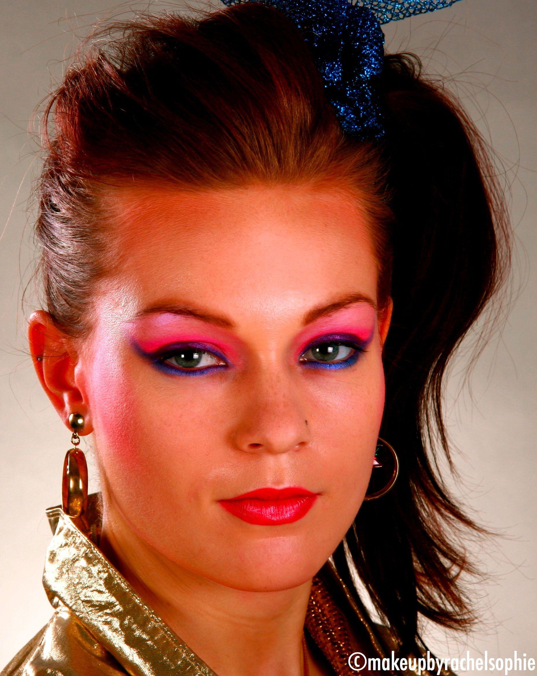 1980's. Makeup by Rachel Sophie Costume & Halloween