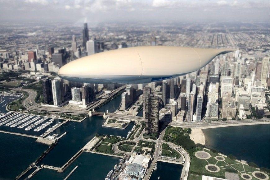 Airbia, le #zeppelin du #futur