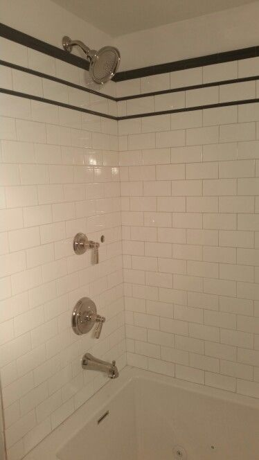 Kohler Bancroft fixtures (still need to hook up the hand held shower ...