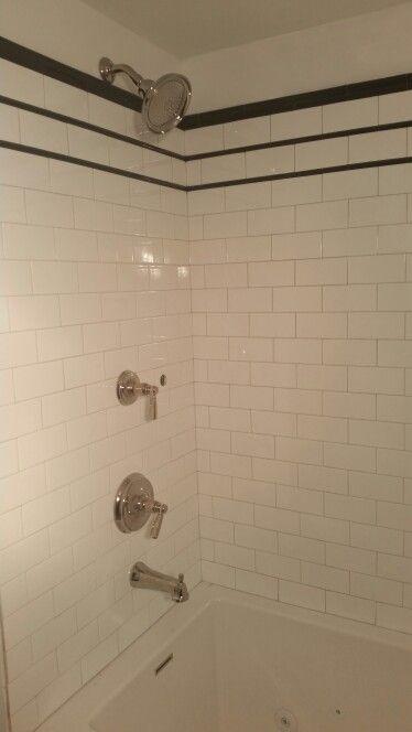 Kohler Bancroft fixtures (still need to hook up the hand held shower ...