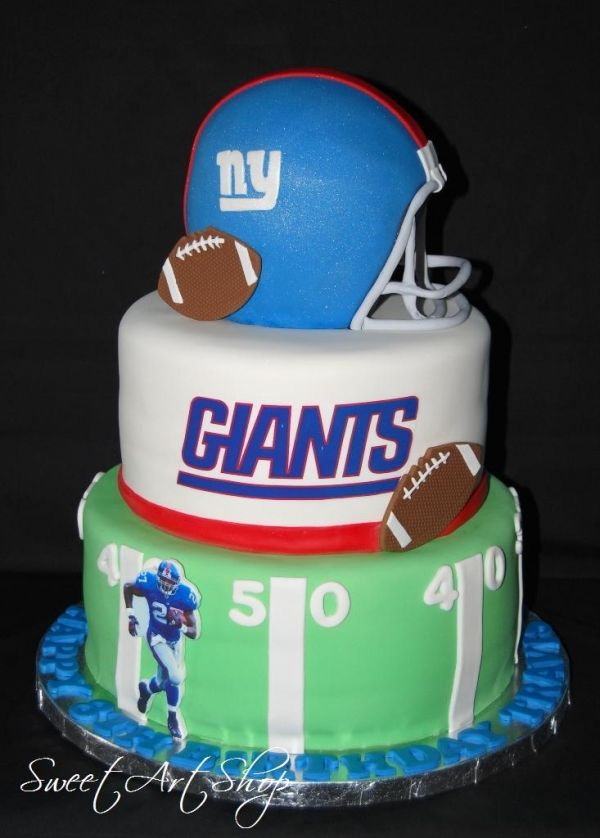 NY Giants | New York | Ny giants cake, Giant cake, Giant birthday cake