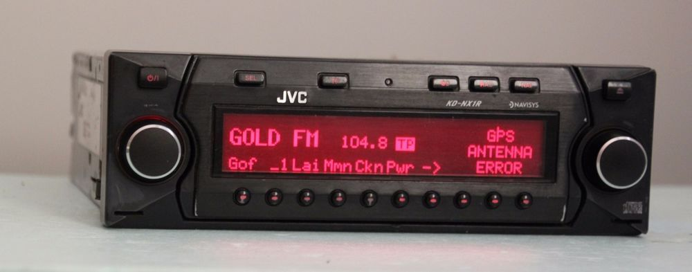 JVC KD-NX1 BECKER STYLE CAR CD PLAYER NAVI UNIT BMW MERCEDES PORSCHE