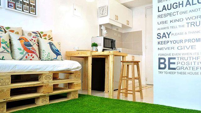 A 25sqm Scandinavian Inspired Condo Unit Condo Interior Design Small Condo Interior Condo Interior Design
