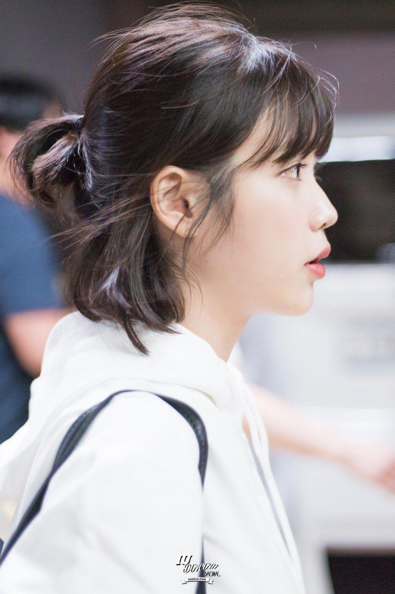 These Pictures Prove Iu Has Perfected The Short Hair Style Koreaboo Asian Short Hair Iu Short Hair Korean Short Hair