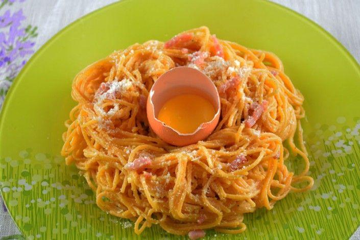 Spaghetti alla carbonara #paques #easter