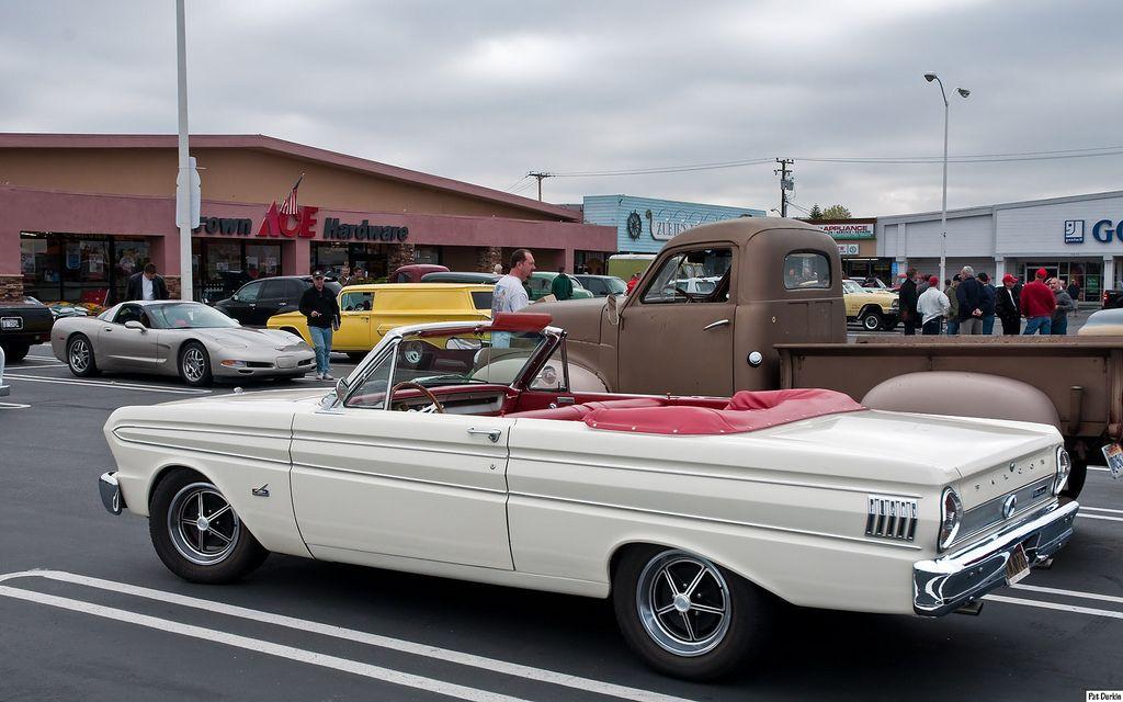 1964 Ford Falcon Futura Convertible White Rvl 1964 Ford Falcon Ford Falcon Ford