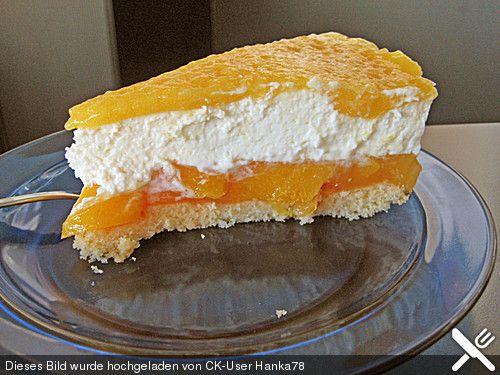 Pfirsich - Maracuja - Torte (Rezept mit Bild) von sissimuc - chefkoch schnelle küche