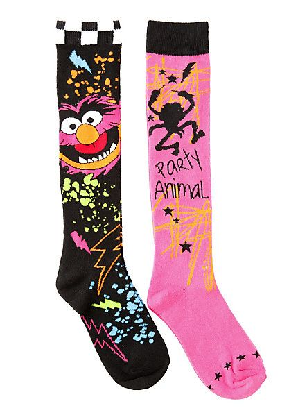 0f2a9a632 The Muppets Animal Knee-High Socks 2 Pair