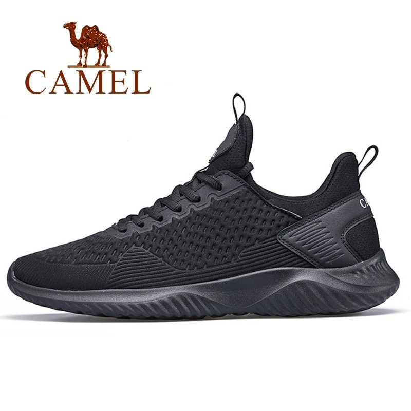 1e654a4da80 CAMEL Men s Running Shoes Lightweight Off-white Comfortable Men Sneakers  Men Breathable Sport Shoes For Outdoor Sports