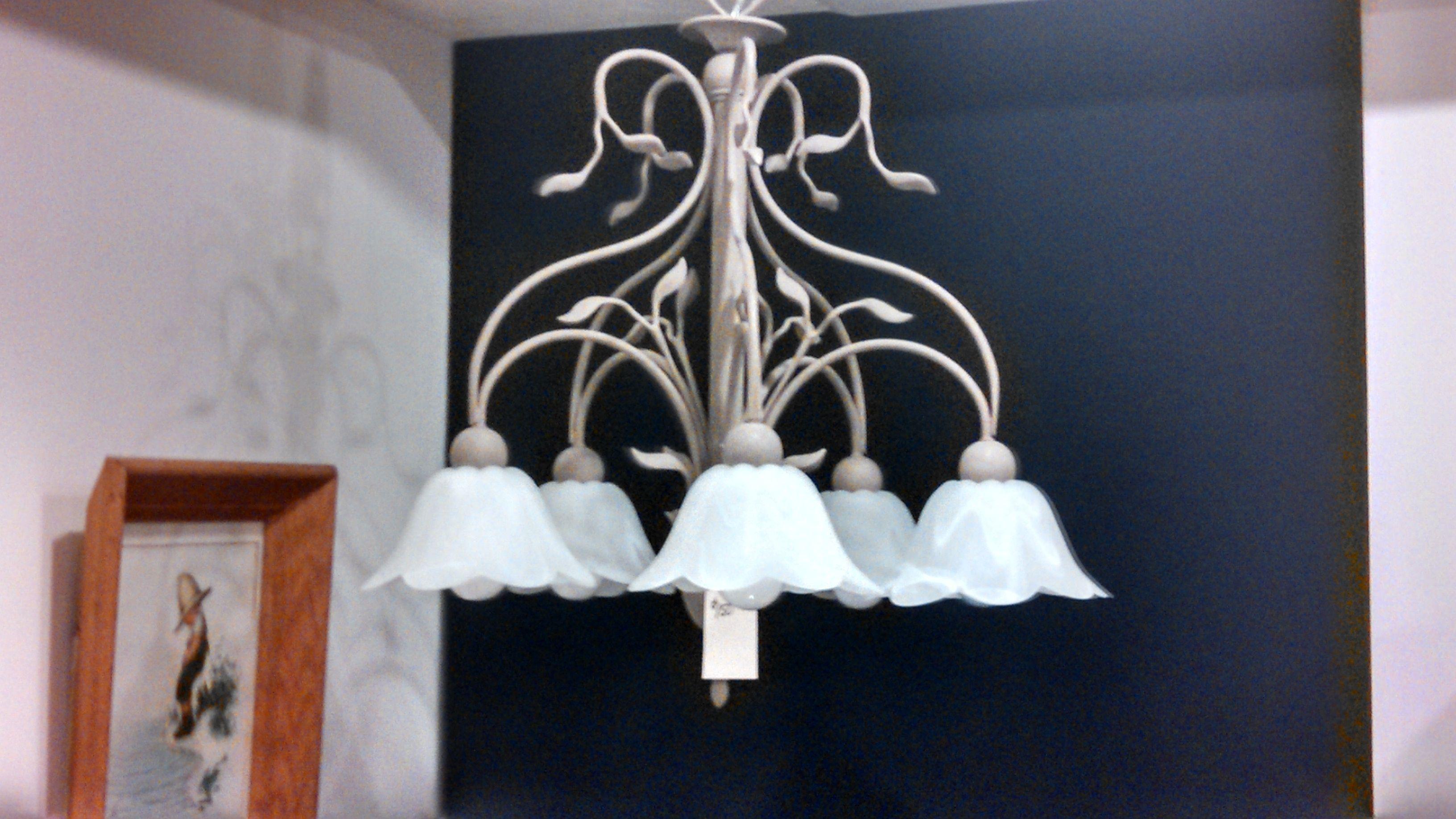 New Tulip chandelier