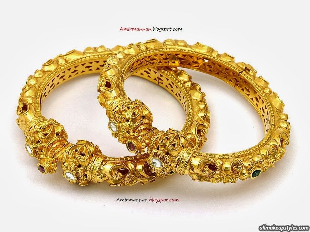 Stunning Latest Design Of Gold Bangles In India Ideas - Jewelry ...