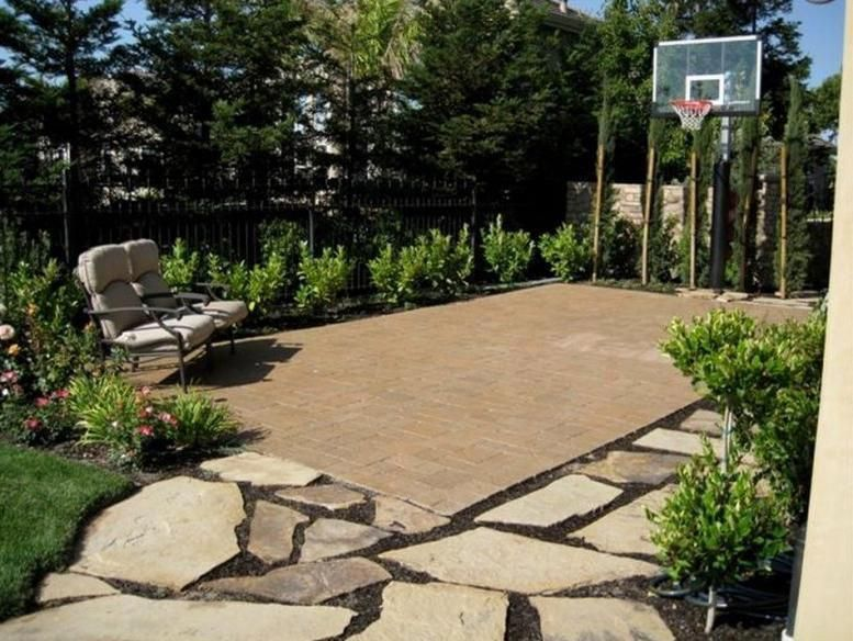 Advice Techniques Together With Manual With Regards To Acquiring The Greatest Outcome And Also A Basketball Court Backyard Backyard Basketball Backyard Court