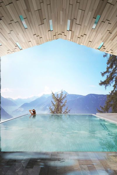 Miramonti boutique hotel bozen italien infinity pool for Boutique hotel bozen