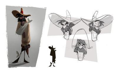 Andy Barry - Character Design Page