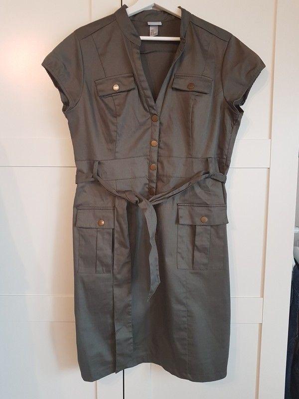 Blusenkleid von H&M Gr. 46 (42/44) - kleiderkreisel.at ...