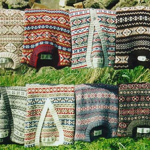 Men's Knitwear: Fair Isle Sweaters | A Nordic Christmas ...
