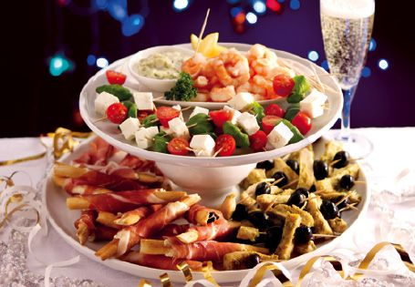 New year 39 s recipe ideas homepage recipes recipes by for Party canape ideas