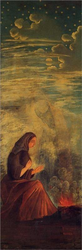 "The Four Seasons Series, ""Winter"" Paul Cezanne, Oil on Canvas, 1861."