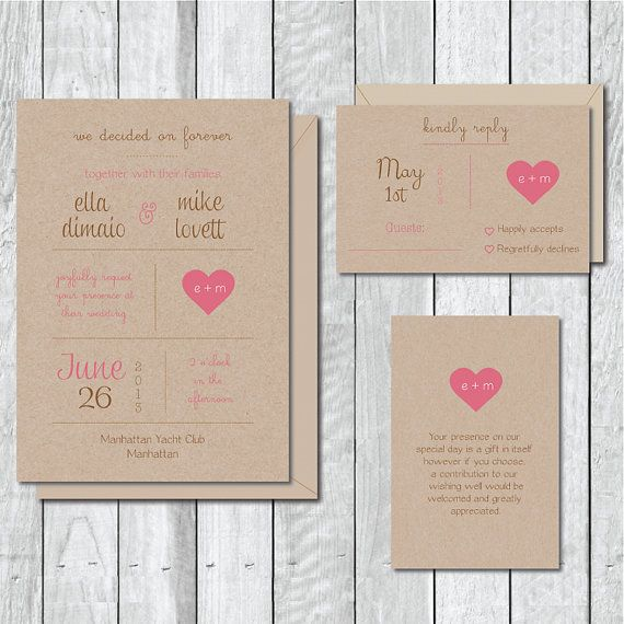 Recycled Wedding Invitations: Recycled Wedding Invitations . Wedding By