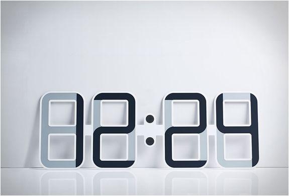 20af7315c39 RELÓGIO DE PAREDE DIGITAL CLOCKONE - Imagem - 2