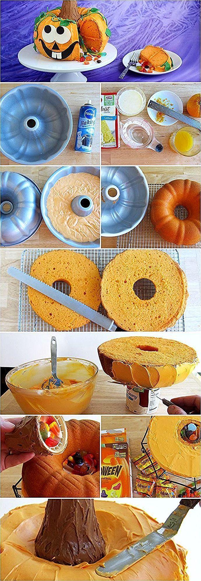 Photo of Kürbis-Piñata-Kuchen: – Kürbis-Piñata-Kuchen: – #Cake # Piñata #PinataKuche…