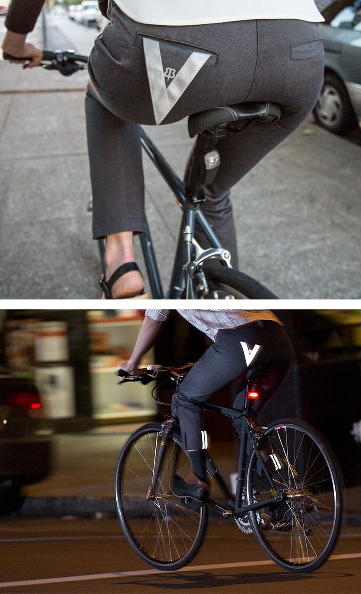 a229a34b67 Women's Gray Bike to Work Pants have a classic trouser fit; they're shaped  through hips and thighs, and straight through the knee.