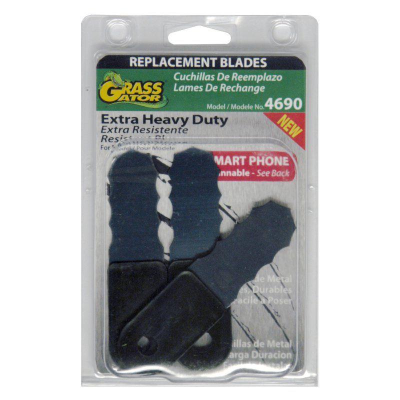Grass Gator 3 Piece Brush Cutter Replacement Blades 1223 0967 Replacement Blades Blade Cutter