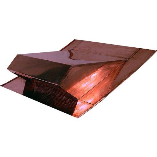 Copper Low Profile Attic Roof Vent Continue To The Product At The Image Link Roof Vents Attic Remodel Attic Vents