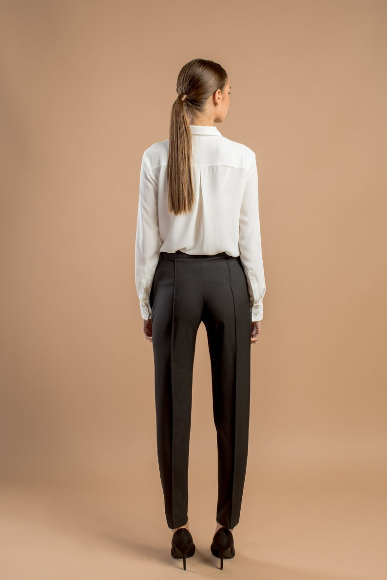 Tapered Vs Straight Suit Pants