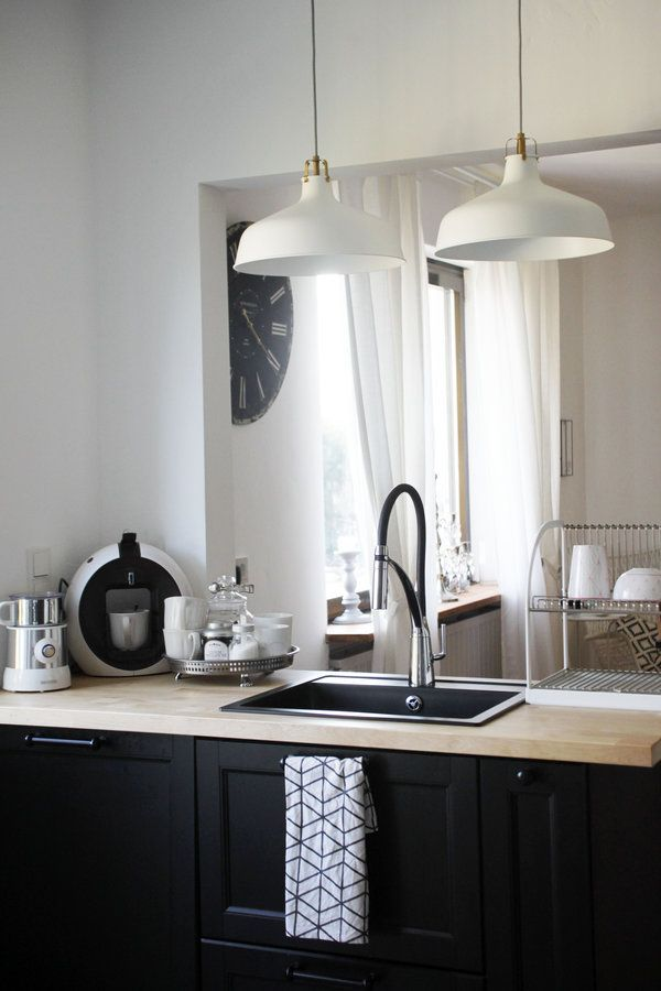 offene wohnk che im skandinavischen stil k che kitchen pinterest offene. Black Bedroom Furniture Sets. Home Design Ideas