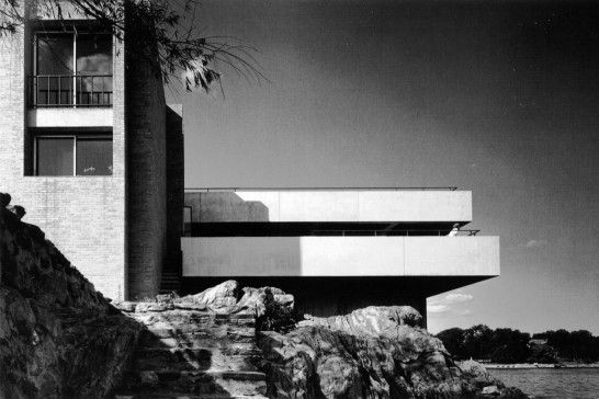 Buttenweiser House, Mamaroneck, New York, 1965 tumblr_lwcxyzVtrs1qzglyy