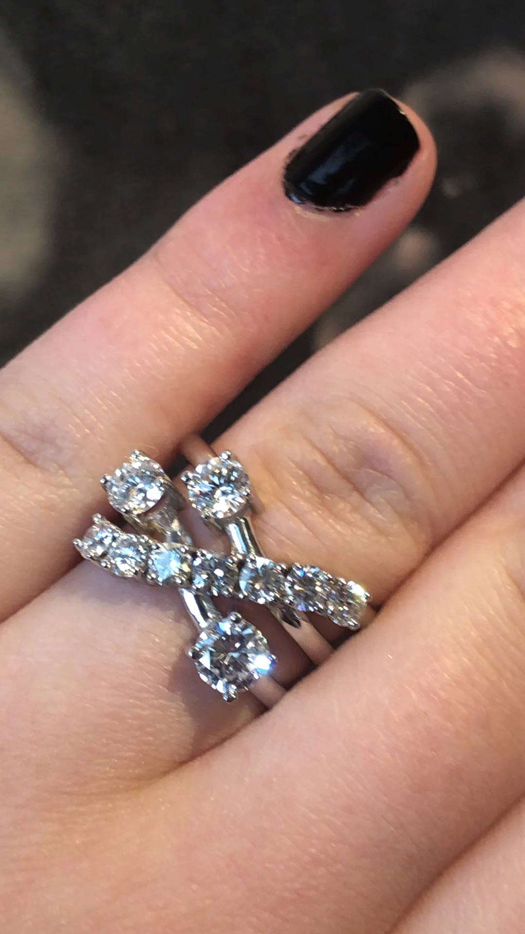 Pin on unique diamond rings
