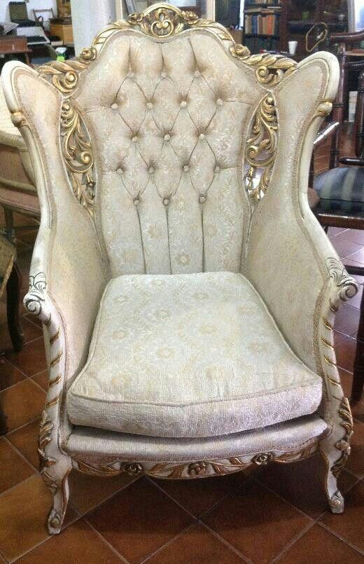 Sillon provenzal luis xv mobiliario luis xv pinterest - Sillon estilo provenzal ...