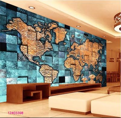 Pin by wallpaper wallmural on wallmural modern pinterest discover ideas about world map wallpaper gumiabroncs Images