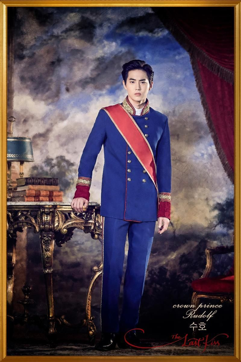 Suho 171026 Musical The Last Kiss Character Poster Credit